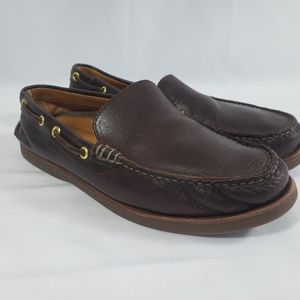 Sperry Gold Cup Brown Leather Loafer Noat Shoes